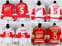 nhl jersey - Detroit Nicklas Lidstrom Red White CCM Winter Classic C Patch Throwback Heritage Red Wings Nhl Ice Hockey Jerseys