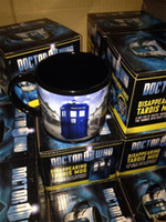 awesome coffee mugs - doctor who disappearing tardis mug with box awesome heat sensitive police coffee cup doctor who disappeared color change mug DHL shipping