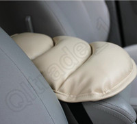 Wholesale 200PCS HHA453 Car Auto Armrests Cover Vehicle Center Console Arm Rest Seat Box Pad Protective Case Soft PU Mats Cushion Universal