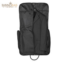 Wholesale 2015 SUSINO New Portable Suit Bag Black Two Pockets Men s Travel Bags For Travel Clothes Casual Storage bag