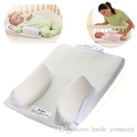 Wholesale Baby Newborn Infant Anti Roll Pillow Sleep Positioner Prevent Flat Head Cushion