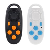 Wholesale Portable Mini Wireless Bluetooth Remote Control Shutter Gamepad Joystick Controller for IOS Android PC TV Video Game Box E books order lt no