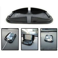 car gps stand - Black Car Anti Non Slip Pad Mat Skidproof Holder Stand For GPS Cell Phone Dashboard Sticky Phone