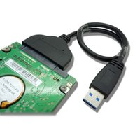 Wholesale Super Speed USB to SATA Pin quot Hard disk drive SSD Adapter Cable CM