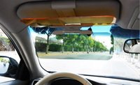 Wholesale 1PC Brand New Car Sun Block For Driver Day And Night Anti dazzle Mirror Automobile Sun shading Block LA870116