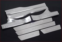 Wholesale 8PCS High Quality Stainless Steel Inside Scuff Plate Door Sill for Mitsubishi ASX doors Hatchback