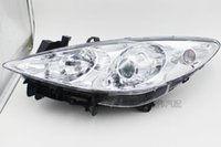 Wholesale for Peugeot new headlight assembly front lighting lens headlamps headlamp Manual