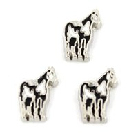 Wholesale floating charm horse floating charms for living locket