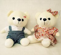 bear cub movie - Couple bear cubs in the skirt wedding wedding plush dolls dolls annual gift lescure rabbit toys