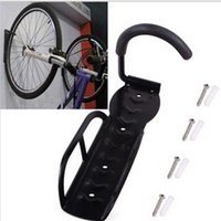 Wholesale 2014 New Arrival Black Metal Bicycle Racks Cycling Bicycle Storage Mounted Rack Stands Hanger Hook Brand Bicycle Accessories