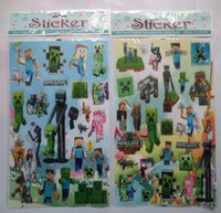 cartoon wall stickers - x25 cm Minecraft Stickers Minecraft D Cartoon Wall Sticker New Preorder Minecraft Sticker