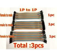 Wholesale Dupont line cm male to male male to female female to female jumper wire Dupont cable