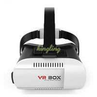 Wholesale VR BOX Virtual Reality Glasses d Movies Games for quot quot Smart Phone Professional VR Glasses Bluetooth Wireless Control