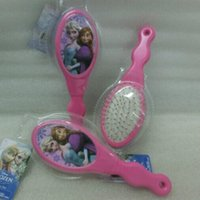 Wholesale New Arrival frozen Elsa Anna Pattern comb Christmas gift