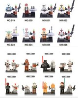 abs plastic block - Building Blocks Toys STAR WARS Set Minifigures Star Wars for Kids Environment Friendly ABS Plastic Building Blocks Toys