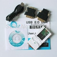 Wholesale USB To VGA DVI HDMI Adapter Converter