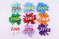 Bigoudis de ruban France-Frondeurs pour enfants arpente les fleurs corker cheveux barrettes fashion girls hairclips points ruban korker cheveux clip corker accessoires pour cheveux A248
