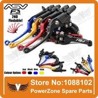 asv lever parts - Alloy ASV F3 Series ND Clutch Brake Folding Lever Modify Parts Motorcycle ATV Dirt Pit Bike CRF RMZ KLX YZF order lt no tra