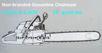 Wholesale ms Robust Power CC KW Stroke Chain Saw Guide Bar Chain Saw Garden Tools Gas Chainsaw Fast Shipping