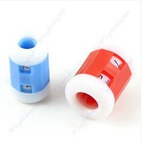 Wholesale 2PCS Convenient Plastic Crochet Knitting Row Counter Round Stitch Tally Knitter Needle zx181