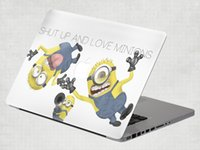 Wholesale Minions Removable Vinyl Decal Sticker Skin for Apple Macbook Air Pro inch