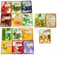 wholesale beauty mask - Korean Beauty D Pulp Facial Essence Face Mask Sheet Pack Skin Care Mix Types Moisturising Mask