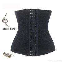 Wholesale New Sexy Lady s Waist Training Corset Steel Bone Waist Cincher Trainer Body Shaper Underbust Bustier