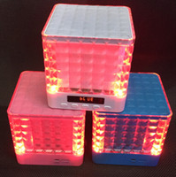 mini speakers - Super Loud Wireless Bluetooth Speaker Computer Speakers Led FM TF Card Slot USB Port for Ipad Samsung Iphone Mobile Phones MP3 Computers