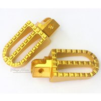 Wholesale CNC RACING FOOT PEG FOOTREST HEAVY DUTY CC DIRT BIKE Gold