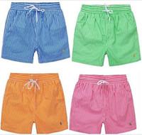 Wholesale Casual Men s PL Shorts Men Swimwear Board Shorts Summer Bran Beach Surf Shorts Men Sports Short Pants