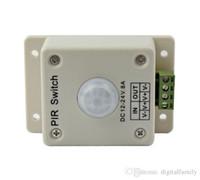 Wholesale 150 Piece PIR Motion Sensor Switch For LED Strip DC V V A For Single Color LED Strip LED Light Smart Home Via DHL