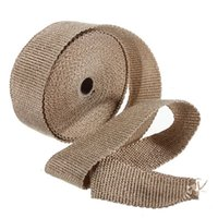 Wholesale Fiberglass Exhaust Protection Pipe Heat Header Insulation Tape Turbo Wrap M
