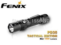 Wholesale New Fenix PD35 TAC Tactical Linternas Cree XP L Lumens Mode Waterproof Portable Torch Flshlight Holster