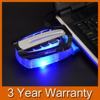 Wholesale Premiun Quality USB Cooling Fan for Laptop LED Light Vacuum Turbine Air Extracting Case Cooler for inch Notebook order lt no t
