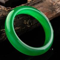 jade bracelet - The noble and beautiful green jade bracelet bangle lady s jade bracelets with quartzitic jade bracelet Valentine Gift MOM S Gift