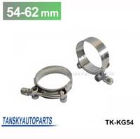 Wholesale Tansky Pair unit INCH MM MM SILICONE TURBO HOSE COUPLER T BOLT SUPER CLAMP KIT TK KG54