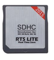 Wholesale Free DHL shipping New Genuine Sliver SDHC Dual Core Game Adapter Flash Cards For XL DSi DSL NDS Memory Card Reader