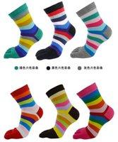designer socks - Designer Women Retro Color Five Finger Toe Socks Soft Cotton Blend Casual Sport Socks Free Size Hot Womens Sports Socks Cheap Price