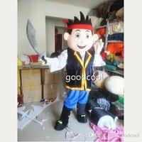 jake and the neverland pirates - Jake Mascot Costume EVA Party Adult Size Cartoon Mascot Costume Jake and the Neverland Pirates Mardi Gras Party Fancy Dress