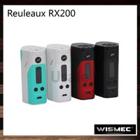 best power - Wismec Reuleaux RX200 TC Mod Powered By Joyetech Chip RX200W Best Match Amor Plus TFV4 Mini Indestructible Tank Original