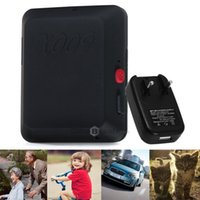 Wholesale Multi function X009 Tracker Locator MP Monitor GSM Bands Tracking for Cars Kids Elder Pets EU Plug