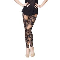 imported fabric - New Korean imported fabrics new personality patch leggings female models flower pants tide was thin pantyhose pants dresses gift XK5031