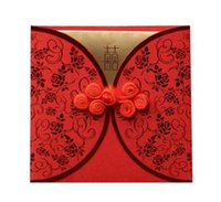 Wholesale Red married hone shee quality wedding supplies red envelopes size