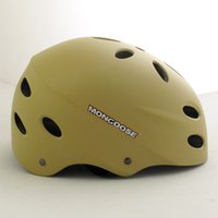 Wholesale Mongoose dead fly skating extreme sports helmet matte color desert wells code original single