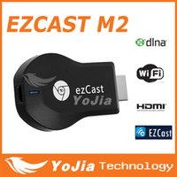Wholesale Original M2 EZcast DLNA Airplay WiFi Display Receiver Dongle Multi screen Interactive TV Stick HDMI P Miracast Make Notes
