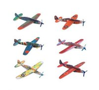 Glider gliders - So Easy World War II Foam Glider Assorted Power Prop Flying Gliders Planes Aeroplane Kids Children DIY Puzzles Toys