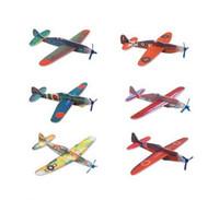 foam puzzle - So Easy World War II Foam Glider Assorted Power Prop Flying Gliders Planes Aeroplane Kids Children DIY Puzzles Toys