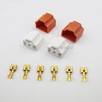 Wholesale Sets For Dodge Ford H4 Bulb Headlight Connector Plug Lamp Socket Ceramic