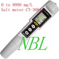 Wholesale Brand New High Accuracy to mg L Waterproof CT ATC Pen type Salt Meter for wide applications water conditions
