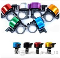 Wholesale 4000pcs CCA2010 Super Deal Outdoor Bicycle Bike Multi color Aluminum Alloy Mini Bicycle Bell Mini Bicycle Bell Bike Horns Colorful Bike Horn